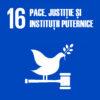 Pace, justitie si institutii puternice