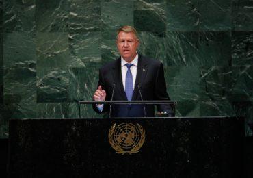 Klaus Iohannis, mesaj la ONU privind Coaliția România Sustenabilă: România vrea să se asigure că generațiile viitoare vor putea trăi într-o lume sustenabilă