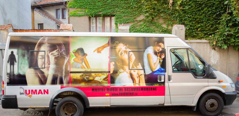 Lansarea Muzeului Mobil al Sclaviei Moderne cu ocazia Zilei Europene împotriva Traficului de Persoane