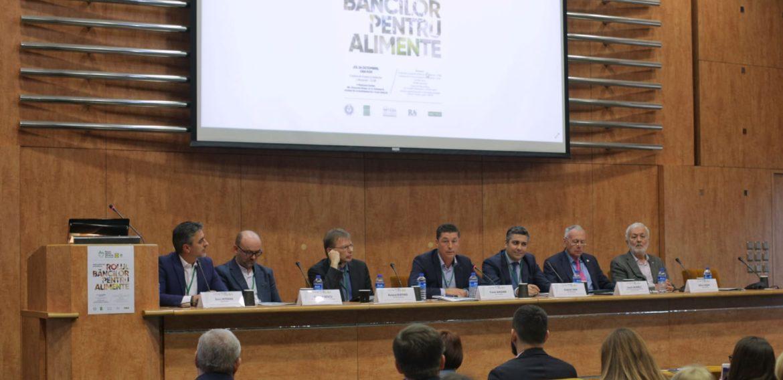 """Participare la conferința """"Risipa alimentară în România și rolul Băncilor pentru alimente"""""""
