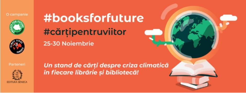 #Cărțipentruviitor   Apel pentru cărți despre criză climatică în librării și biblioteci