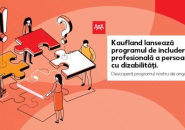 Kaufland România angajează peste 500 de persoane cu dizabilități până în aprilie 2020