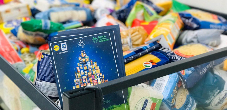 Clienții Lidl din patru orașe au donat 16,7 tone de alimente pentru persoanele defavorizate