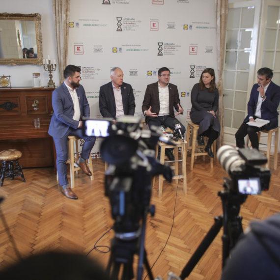 Ministrul Mediului, Costel Alexe, la Ambasada Sustenabilității în România: Vom introduce în România sistemul garanției pe ambalajele reciclabile