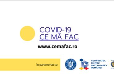 Guvernul României a lansat platforma cemafac.ro, un ghid cu recomandări pentru populație în funcție de scenariile posibile
