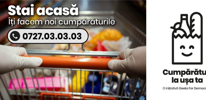 Kaufland si Selgros se alătură inițiativei civice Cumpărături la ușa ta care livrează gratuit alimente la domiciliu pentru persoanele vulnerabile
