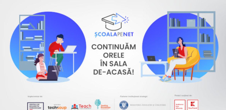 Patru ONG-uri au dezvoltat o platformă de suport tehnic și educațional pentru profesorii din România