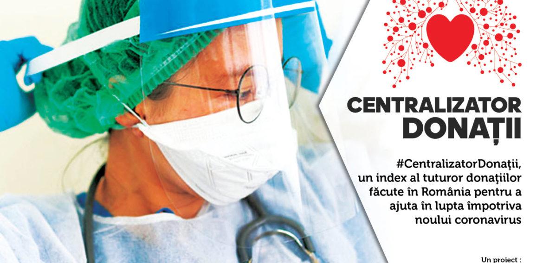 The Azores lansează platforma #CentralizatorDonatii, cel mai cuprinzător index al donațiilor făcute în România în lupta împotriva noului coronavirus