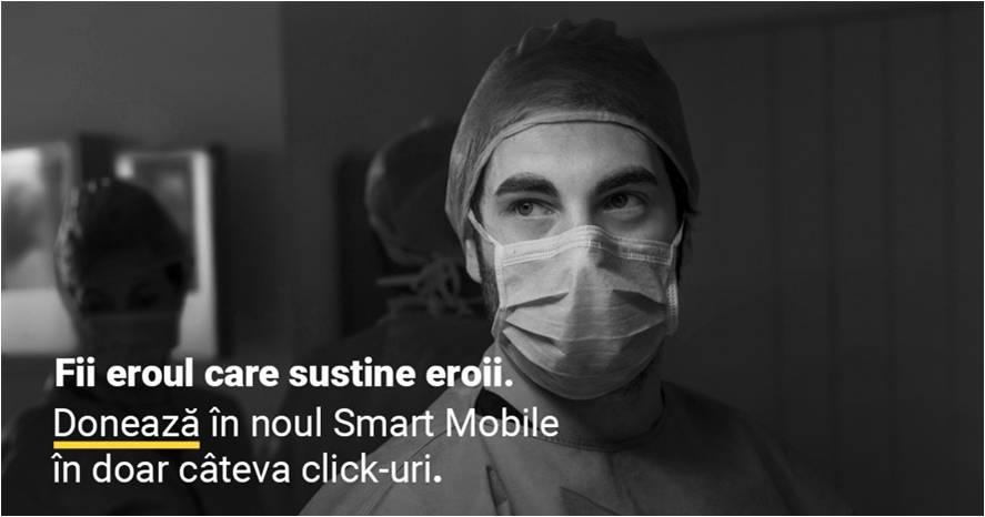 Clienții Raiffeisen Bank pot dona direct în aplicația de mobil Noul Smart Mobile către 3 ONG-uri implicate în lupta împotriva COVID-19