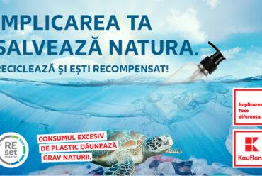 Kaufland România aduce în magazine prima infrastructură de reciclare a produselor de îngrijire personală și a locuinței și recompensează clienții cu 50% reducere