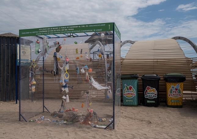 #BrizaReciclării, campanie pentru educarea turiștilor de pe litoral privind deșeurile aruncate la întâmplare