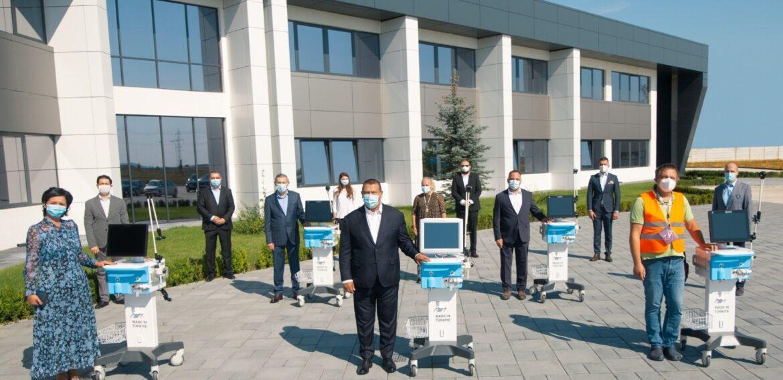 Compania Arctic donează ventilatoare pentru terapie intensivă spitalelor din județul Dâmbovița