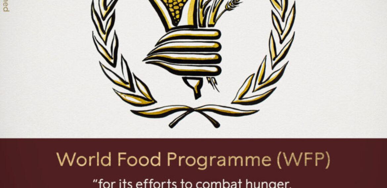 Premiul Nobel pentru Pace, acordat Programului Alimentar Mondial al ONU
