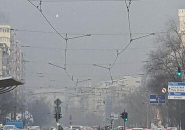 Poluare masivă în București. În unele zone, nivelul maxim admis a fost depășit cu 350%