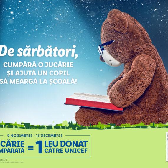 Lidl susține accesul la educație de calitate pentru copiii din medii vulnerabile, printr-o nouă campanie derulată împreună cu UNICEF în România