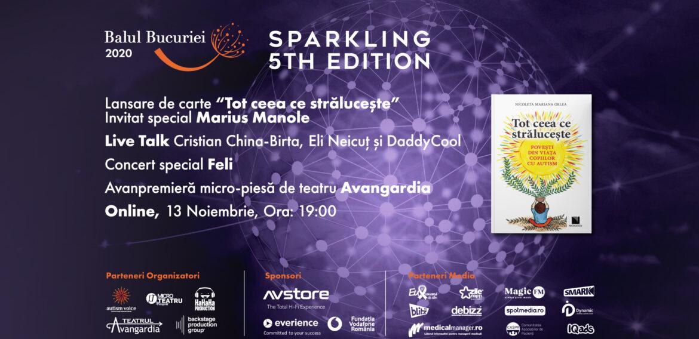 Autism Voice organizează, pe 13 noiembrie, Balul Bucuriei online alături de nume precum Feli sau Marius Manole