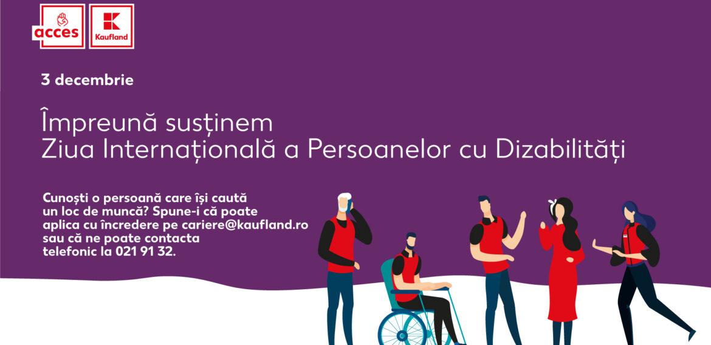 Kaufland România, sprijin pentru persoanele cu dizabilităţi: Integrarea a 240 de noi angajaţi şi adaptarea spaţiilor de lucru, obiective îndeplinite cu succes