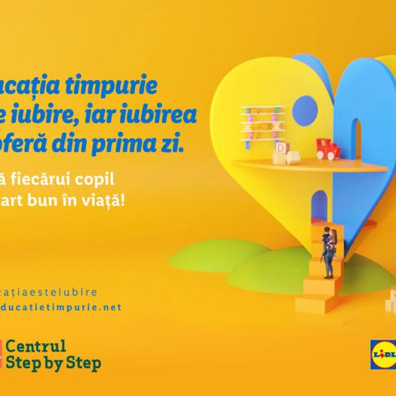 Lidl susține importanța Educației Timpurii pentru dezvoltarea sănătoasă a copiilor, printr-un parteneriat strategic cu Centrul Step by Step