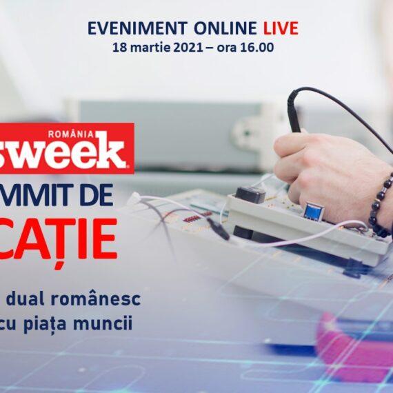 SUMMIT DE EDUCAȚIE: Învățământul dual românesc și corelarea cu piața muncii (eveniment online, 18 martie)