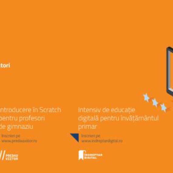 Profesorii din țară sunt invitați să se înscrie la cursurile online gratuite de educație digitală și programare vizuală dezvoltate de Asociația Techsoup