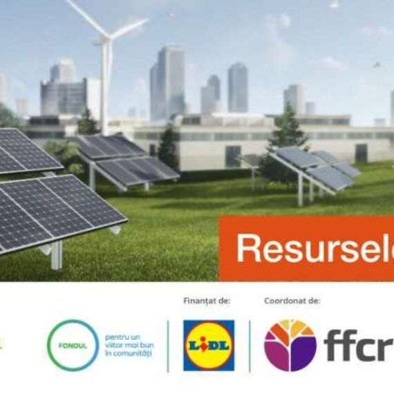 RESURSELE VIITORULUI – proiectul educaţional dedicat comunităţii, economiei circulare şi protecţiei mediului, se apropie de final