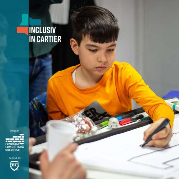 """Fundația Comunitară București, împreună cu Banca Transilvania, lansează """"Inclusiv în cartier"""", programul care crește comunitățile de cartier"""