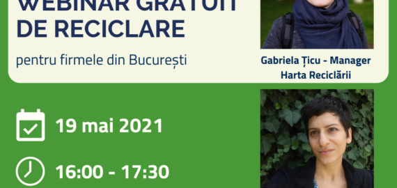 ViitorPlus: webinar gratuit de reciclare pentru firmele din București