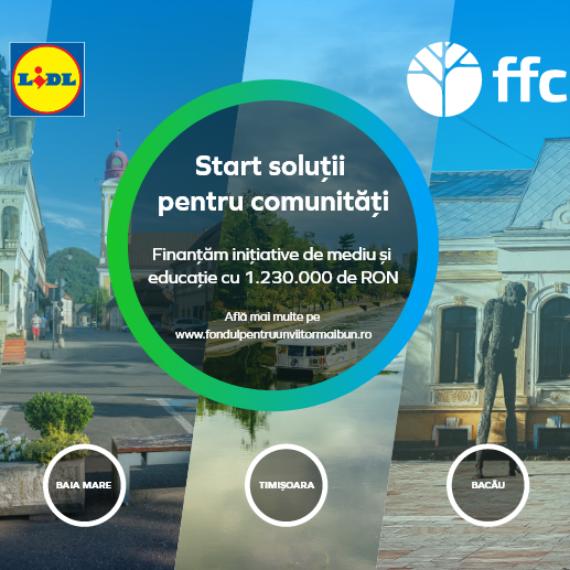 """Federația Fundațiile Comunitare din România și Lidl România lansează a doua ediție a programului național """"Fondul pentru un viitor mai bun în comunități"""""""