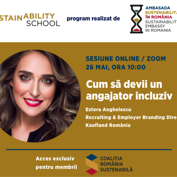 Sustainability School #1 – Cum sa devii un angajator incluziv