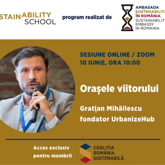Sustainability School #3 – Orasele Viitorului