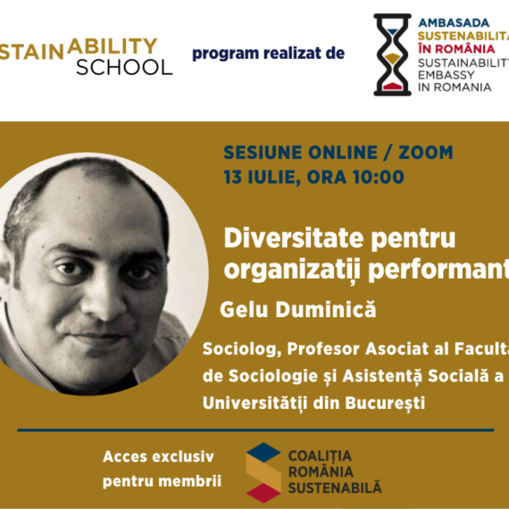 Sustainability School #8: Diversitate pentru organizatii performante