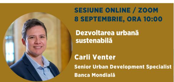 Sustainability School #11: Rolul sectorului privat in dezvoltarea urbana sustenabila