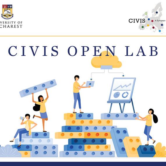 Universitatea din București lansează un nou apel de propuneri CIVIS Open Lab pentru cofinanțarea unor proiecte de responsabilitate socială