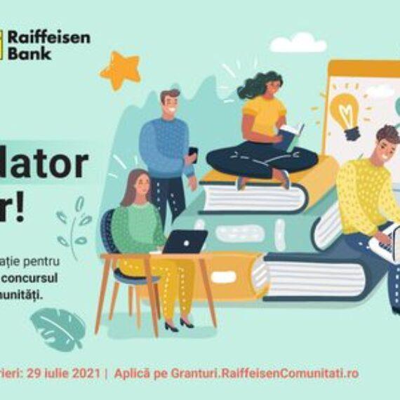 Concurs de granturi Raiffeisen Comunitati 2021 la start