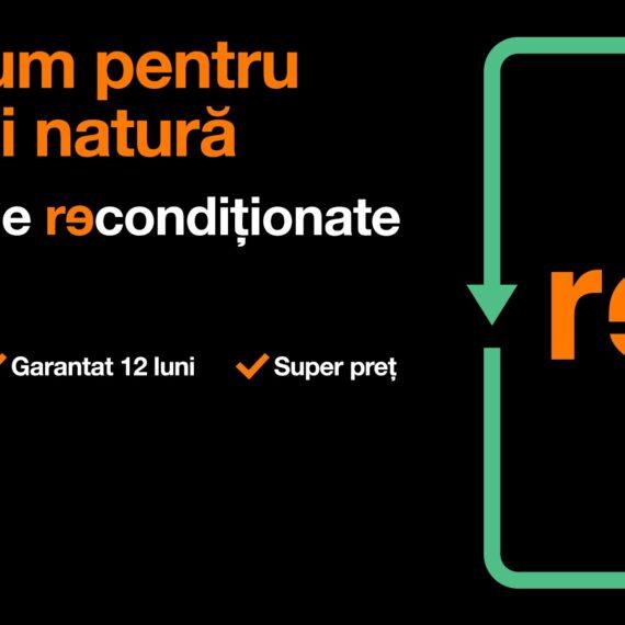 Orange, primul operator de telefonie mobilă care include telefoane premium recondiționate în portofoliul său