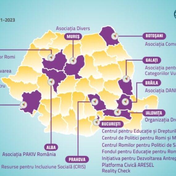 Banca Mondială anunţă cele 18 organizaţii ale societăţii civile din România pentru a doua ediţie a Grupului de Dialog şi Cooperare pentru Incluziunea Romilor