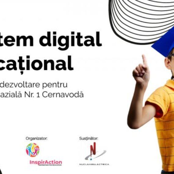 """Asociația InspirAction împreună cu Nuclearelectrica lansează programul """"Creștem digital și vocațional"""""""